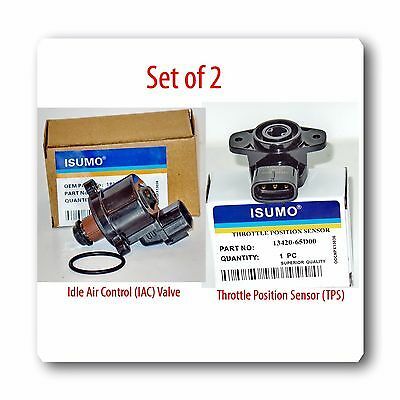 Idle Air Control Valve & Throttle Position Sensor For TRACKER 99-20 VITARA 99-03