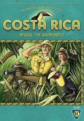 Costa Rica Board Game New