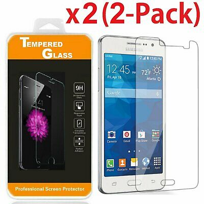 2-PACK Premium Tempered Glass Screen Protector for Samsung Galaxy Grand Prime