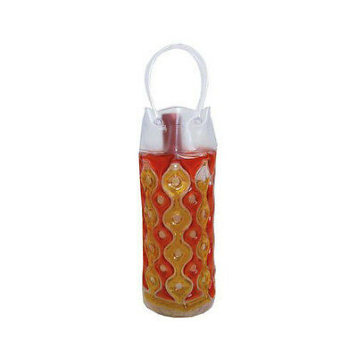 Wave 1C Red-Gold - Freezable Chill It Bottle Bag