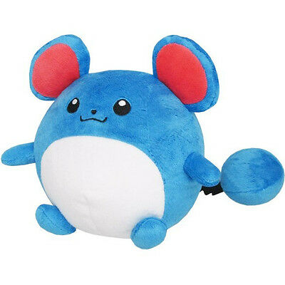"Genuine Sanei Pokemon Go All Star Collection - PP29 - Marill 6"" Plush Doll"