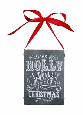 Primitives by Kathy Have A Holly Jolly Christmas Chalkboard