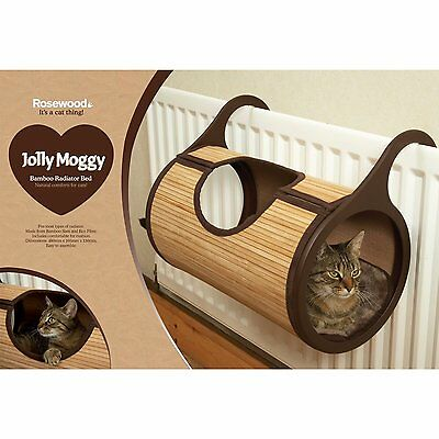 Rosewood Bamboo Cat Radiator Bed [46525] Cat Basket