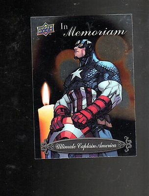 2015 Upper Deck Marvel Vibranium IN Memoriam IM-15 card