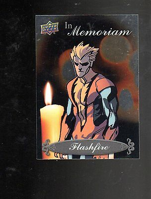 2015 Upper Deck Marvel Vibranium IN Memoriam IM-17 card