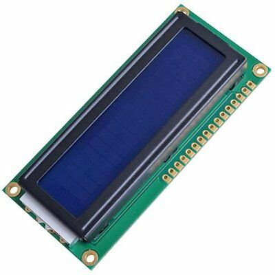 1602 16x2 Character LCD Display Module Blue Blacklight YM