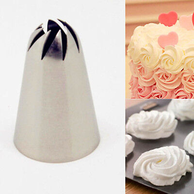 New Arrival Russian Tulip Icing Piping Nozzles Cake Decoration Tip DIY Tool
