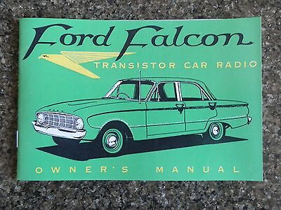 1960 Ford Falcon Xk Car Radio Sales  Brochure.  100% Guarantee.