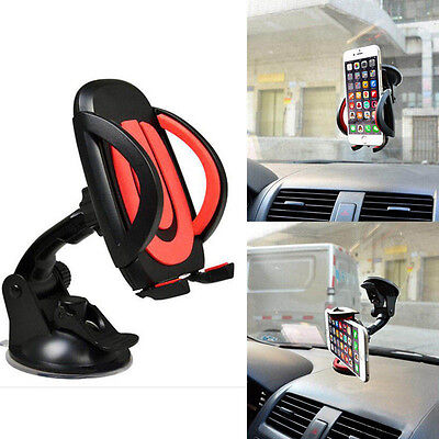 360° soporte ventosa coche universal parabrisas smartphone movil gps holder car