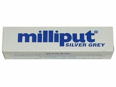 Milliput Silver Grey 2 Part Epoxy Self Hardening Putty Filler