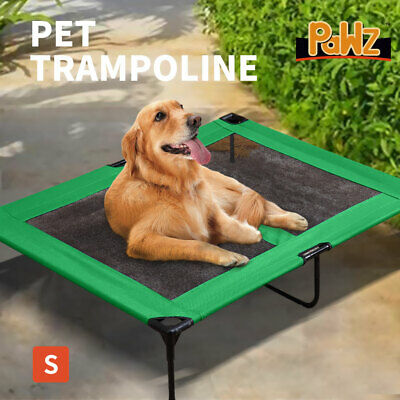 PaWz Heavy Duty Pet Dog Bed Trampoline Hammock Canvas Cat Puppy Cover SMALL