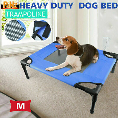 PaWz Heavy Duty Pet Dog Bed Trampoline Hammock Canvas Cat Puppy Cover MEDIUM