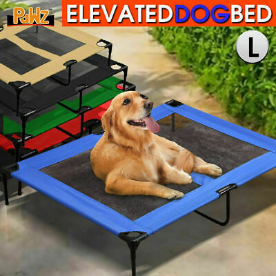 Heavy Duty Pet Bed Trampoline Dog Puppy Cat Hammock Mesh L FAST POST