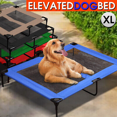 Heavy Duty Pet Dog Bed Trampoline Hammock Canvas Cat Puppy Cover EXTRA LARGE