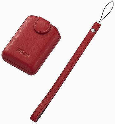 Nikon VJD00004 CS-CP Case 4-1 for Coolpix S01 - Red