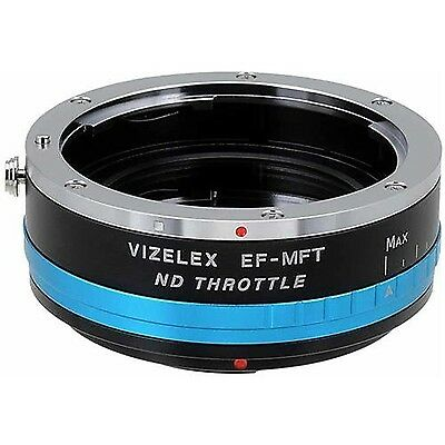 Vizelex ND Throttle Lens Mount Adapter from Fotodiox Pro - Canon EOS (EF EF-s...