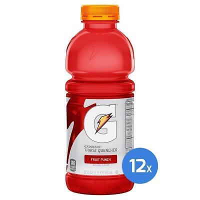 Gatorade Fruit Punch 12x 591ml