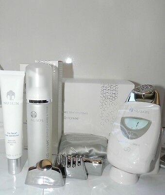 Nu Skin ageLOC Galvanic Spa System II. Facial Package. NEW! White or black 2017