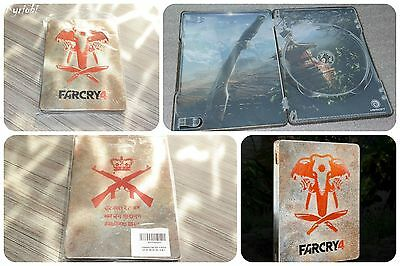 Collector Edition limitée Box no disc 100% NEUF ♦ STEELBOOK Exclusive FAR CRY 4