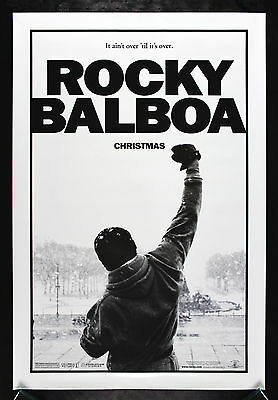 ROCKY BALBOA* CineMasterpieces ORIGINAL MOVIE POSTER ROLLED BOXING DS 2006