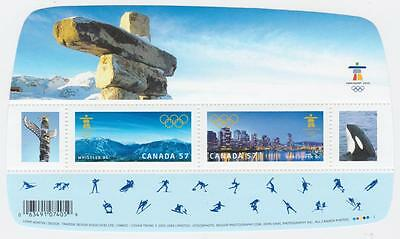 Canada 2010 - Souvenir Sheet #2366 Vancouver Olympic Winter Games