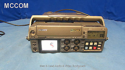 Sony DSR-50 DVCAM Portable Player/ Recorder w/ 510 tape hrs