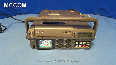 Sony DSR-50 DVCAM Portable Player/ Recorder w/ 350 tape hrs