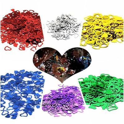 Heart Shape Table Confetti Wedding & Party Sprinkle Scatter Decoration DIY - DD