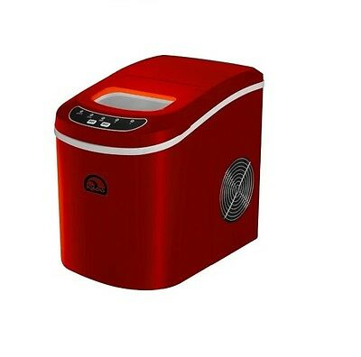 Igloo Red Compact Ice Maker 26 Lbs/Day Freestanding Countertop Machine Portable