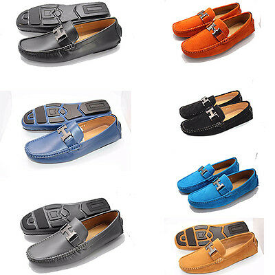 New Mens Boys Loafers Moccasin Driving Casual Party Designer Deck Slip On Shoes