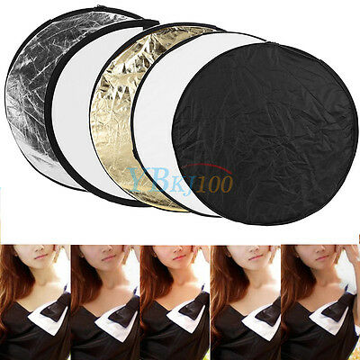 Portable 60cm 5-in-1 Mulit Collapsible Photography Studio Light Reflector board
