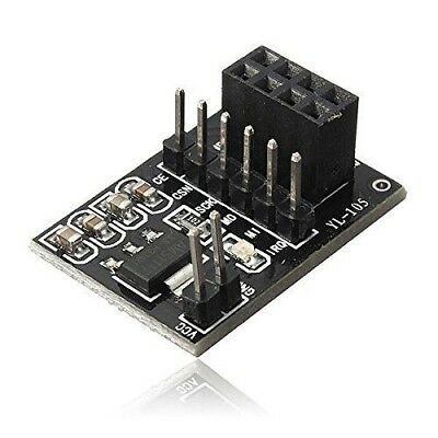 Socket Adapter Board for 8Pin NRF24L01+ Wireless Transceive​ Module Board