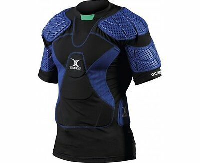 Gilbert Virtuo 12 Protection Top Vest (Blue/Black)