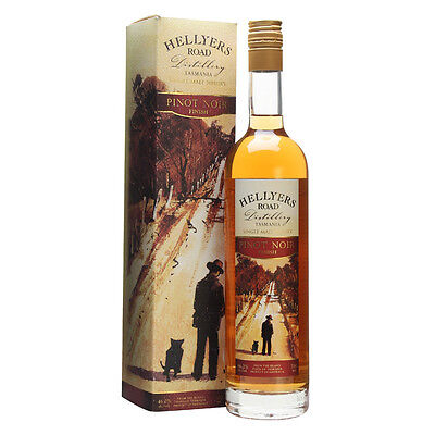 Hellyers Road Pinot Noir Finish Single Malt Whisky 700mL