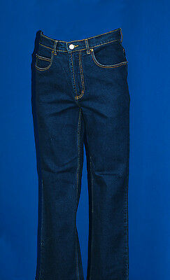King Gee K03390 stonewash five pocket stretch easy fit work /casual jeans New