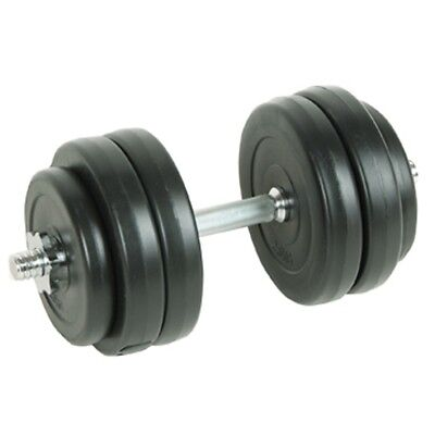# New Dumbbell Weight Set 15kg Home Gym Fitness Barbell Exercise Adjustable Plat