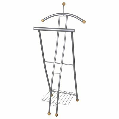 # Portable Cloth Hanger Garment Rack Coat Shoe Hat Valet Stand Clothes Airer Dry
