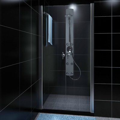 # New 190x80cm Shower Enclosure Safety Glass Swing Door Quadrant Bathroom Screen