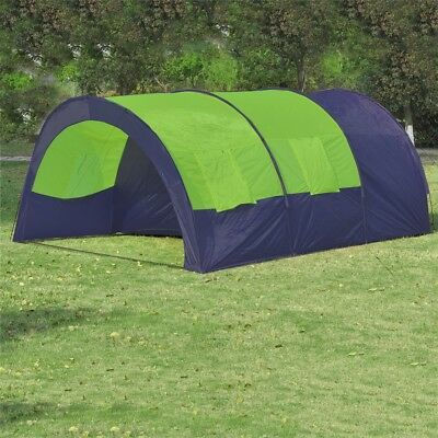 # Outdoor Green Family 6 Person Camping Tent Beach Swag Hiking Canvas Shelter