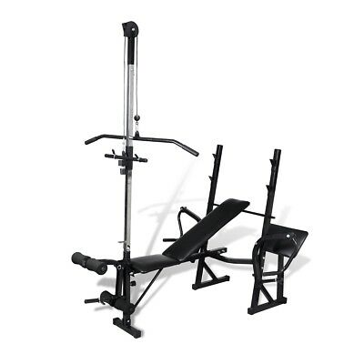 # New Fitness Workout Bench Multi Station Weight Press Situp Home Gym Exercise