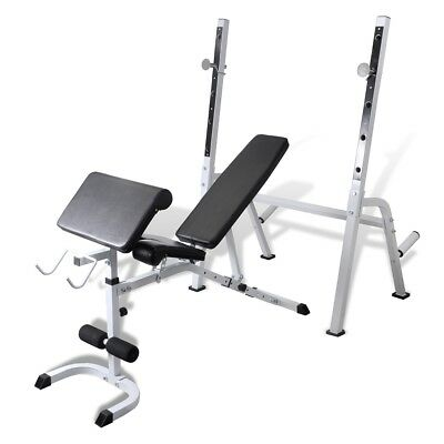 # New Fitness Multi-station Home Gym Weight Bench Curl Press Incline AB Exercise