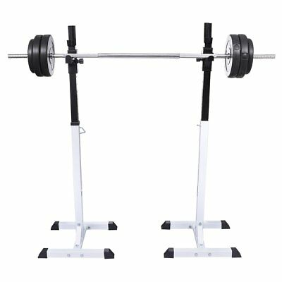 # Barbell Squat Rack Dumbbell Holder Home Gym Fitness Weight Equipment Storage