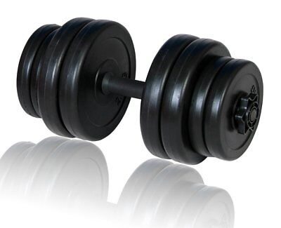# New 15KG Dumbbell Weight Set Home Gym Fitness Adjustable Exercise Equipment