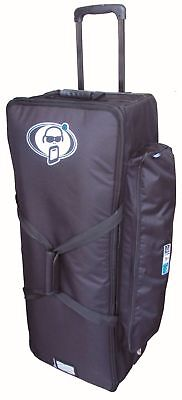 Protection Racket 28in x 14in x 10in hardware case wheels & retractable handle