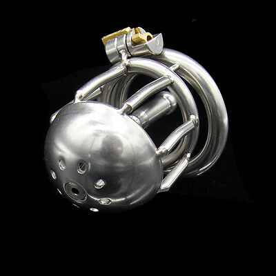 New Stainless steel Urethral Tube Male Chastity device A220