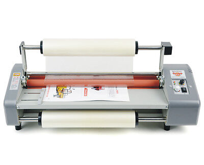 44cm A2 Four Rollers Hot Roll Laminator Laminating Machine Adjust Speed 220V Y