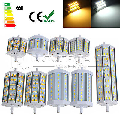 Dimmable R7S LED 10W-25W SMD 2835/5050/5730 Ampoule Lampe Flood 78/118/189mm