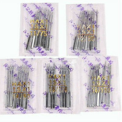 10~100x Threading Singer Sewing Machine Needles 75/11 80/12 90/14 100/16 110/18