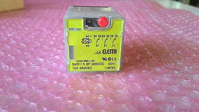 Plug In Relay Elesta Skr115 Al 230Vac 10A 250 Vac 11-Pin A Lot Of X10