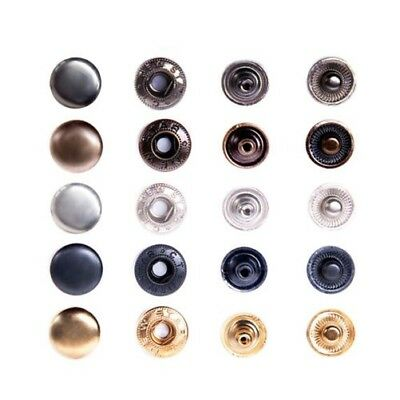 Push buttons TYPE 54 / 12,5mm, Steel, S-Spring, for Fabric, Clothing, Leather